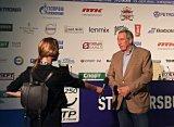 Шамиль Тарпищев прибыл на турнир St. Petersburg Open