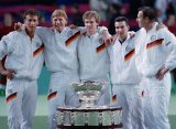 16 декабря 1988 года сборная ФРГ впервые выиграла Кубок Дэвиса