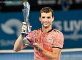 Димитров выиграл первый титул с 2014 года
