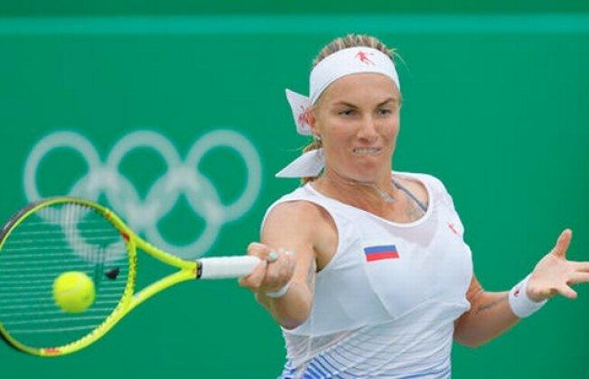 Теннисистка Кузнецова проиграла вборьбе завыход вчетвертьфинал Игр