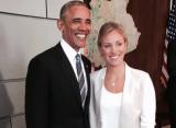 Кербер повстречалась с Бараком Обамой