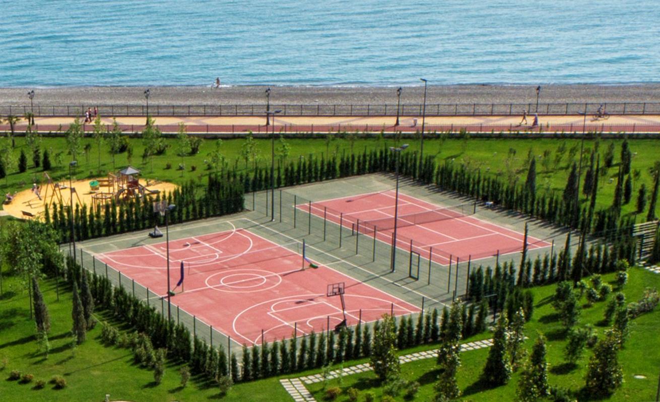 Корт Radisson Blu Paradise Resort