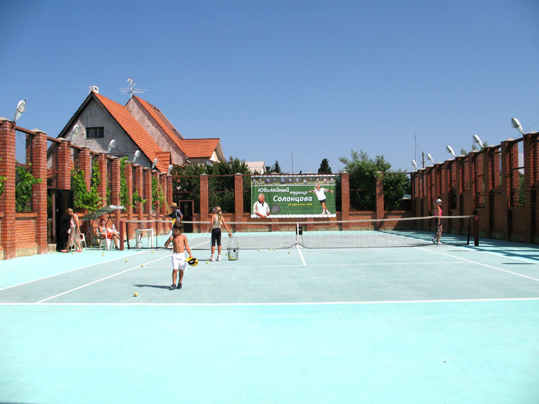 Теннисный центр Борисович Сочи
