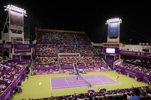 Катар теннис