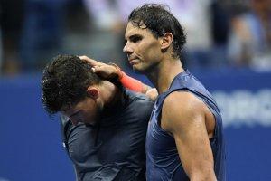 Надаль в драматичном матче переборол Тима и вышел в полуфинал US Open