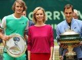 Федерер одолел Зверева-младшего и стал девятикратным чемпионом турнира в Галле