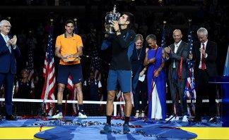 "Джокович выиграл US Open и сравнялся по титулам на ""Шлемах"" с Сампрасом"