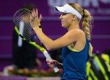Доха (WTA). Возняцки, Мугуруса и Халеп вышли в четвертьфинал, Блинкова выбыла