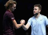 Сок обыграл Зверева и стал полуфиналистом Итогового первенства ATP