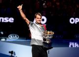 """Федерер впервые за 35 лет на пути к завоеванию """"Шлема"""" обошёл 4-х игроков из топ-10"""