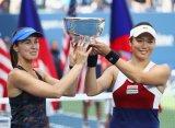 Хингис и Чжань стали чемпионками US Open в парном разряде