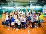 В Москве прошёл детский теннисный турнир на призы Анны Чакветадзе