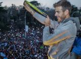 Дель Потро на родине встретила многотысячная толпа болельщиков