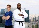 Маррей в Париже взял уроки дзюдо у двукратного олимпийского чемпиона Тедди Ринера