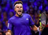 Davis Cup. Тсонга разгромил Дарсиса и сравнял счет в матче сборных Франции и Бельгии