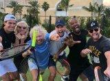 Сэр Ричард Брэнсон собрал на Багамах звезд тенниса и шоу-бизнеса