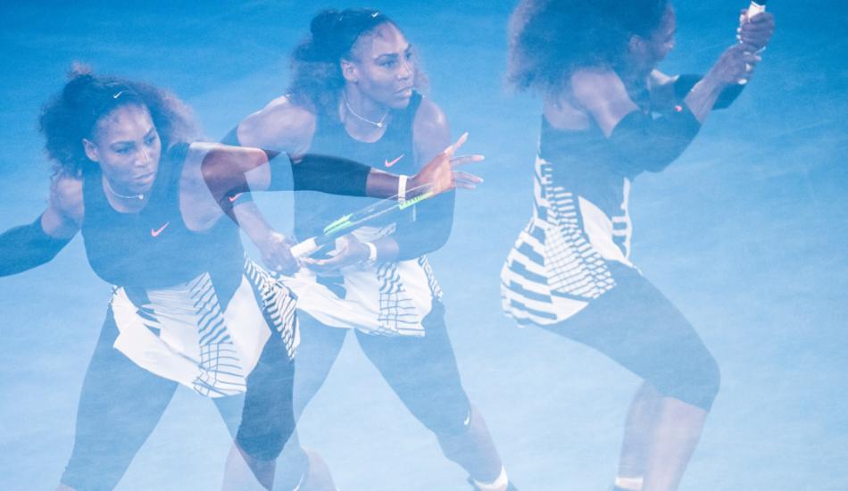 Сколько джоулей теннисист оставляет на корте? Australian Open ввёл революционный подсчёт статистики