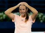 Дубай (WTA). Касаткина вырвала победу у Мугурусы и пробилась в финал
