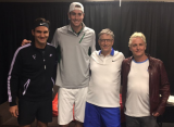 Благотворительный матч Федерера собрал 2 миллиона долларов