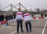 Даниил Медведев и Евгений Донской сыграли матч на московской парковке
