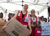 Шарапова побывала в Пуэрто-Рико и оказала гуманитарную помощь пострадавшим от урагана