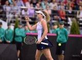 Fed Cup. Вандевей одолела Соболенко и вывела вперед сборную США