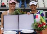 Мартина Хингис и Саня Мирза стали победителями парных соревнований в Риме
