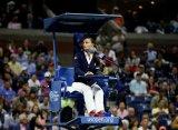Ева Асдераки – первая женщина, судившая мужской финал US Open