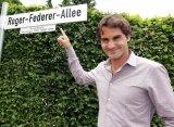 В швейцарском Биле назвали улицу в честь Федерера