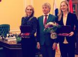 Веснина и Макарова получили государственные награды