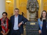 Мартина Хингис и Саня Мирза посетили Русский музей в Санкт-Петербурге