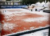 Матчи турнира BMW Open в Мюнхене прерываются из-за снега