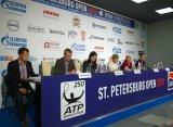 Ознакомительная пресс-конференция для СМИ в рамках турнира St. Petersburg Open