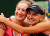 Макарова и Веснина вышли в полуфинал парного турнира в Риме
