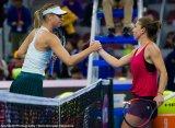 Пекин (WTA). Шарапова взяла лишь четыре гейма в поединке с Халеп