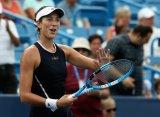 Цинциннати (WTA). Мугуруса и Халеп вышли в 1/4 финала, матчи Плишковой и Макаровой перенесены