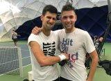 Джокович тренируется с Крайиновичем в Белграде