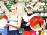 Возняцки защитила титул турнира в Токио, одолев в финале Павлюченкову