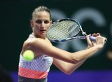 Плишкова обеспечила себе выход в полуфинал Итогового турнира WTA