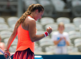 Касаткина одержала первую победу над теннисисткой топ-5, переиграв Кербер