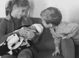 Клийстерс родила третьего ребёнка