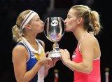 Бабош и Главачкова стали чемпионками Итогового первенства WTA в парном разряде