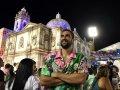 Марин Чилич и Фабио Фоньини побывали на карнавале в Рио-де-Жанейро