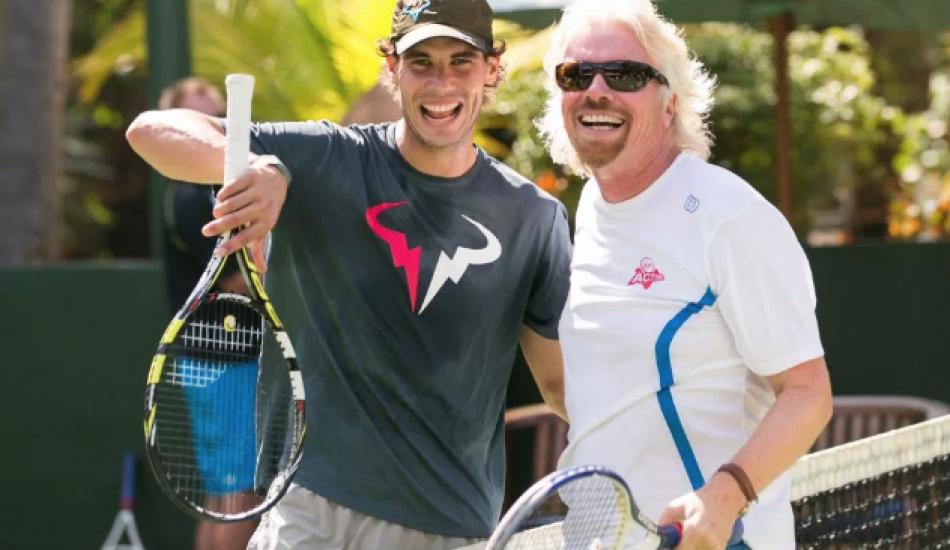 Теннис в раю. Всё, что вам нужно знать о ежегодном турнире Ричарда Брэнсона на Карибах
