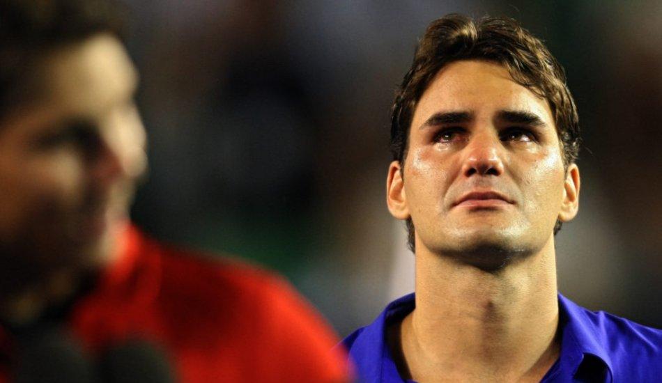 Слезы Роджера Федерера как отдельный вид искусства