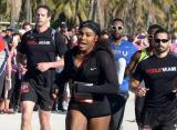 Серена Уильямс поучаствовала в собственном забеге Ultimate Run