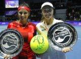 Хингис и Мирза выиграли 40-й матч подряд и взяли титул в Санкт-Петербурге