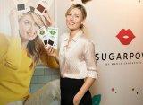 Мария Шарапова презентовала новые конфеты марки Sugarpova