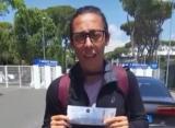 Скьявоне сходила на турнир в Риме по билету