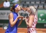 """Маттек-Сэндс и Шафаржова во второй раз в карьере выиграли """"Ролан Гаррос"""" в парном разряде"""